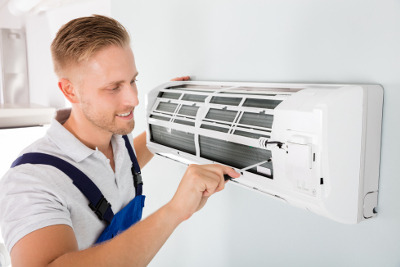 Air conditioning engineer services wall mounted unit