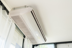 Ceiling suspended air conditioning unit